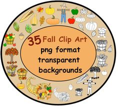 Gourd clipart fall leave Transparent backgrounds Art Фотках Fall