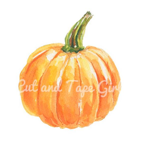 Gourd clipart fall pumpkin A Autumn digital Clipart file
