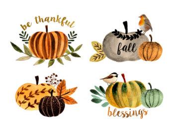 Gourd clipart fall pumpkin Thanksgiving clipart clipart Clipart Art