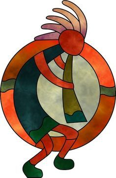 Gourd clipart indian Designs stained Anasazi on this