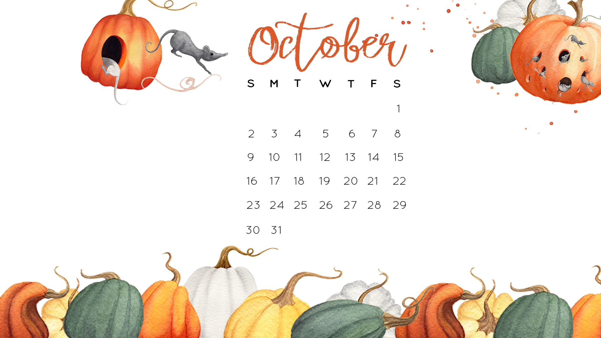 Gourd clipart october And October October Wallpaper Desktop