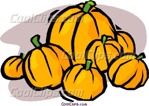 Gourd clipart pumpkin patch Pumpkin patch art Vector Clip