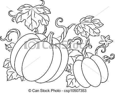 Gourd clipart pumpkin picking Gourd Pumpkin Pumpkins retro clipart