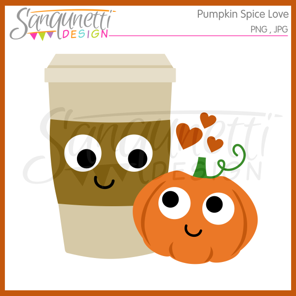 Spices clipart vector Pumpkin Spice Sanqunetti Design: Clipart