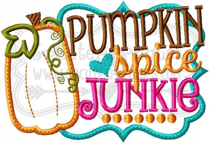 Gourd clipart pumpkin spice 6x10 embroidery Pumpkin file Junkie
