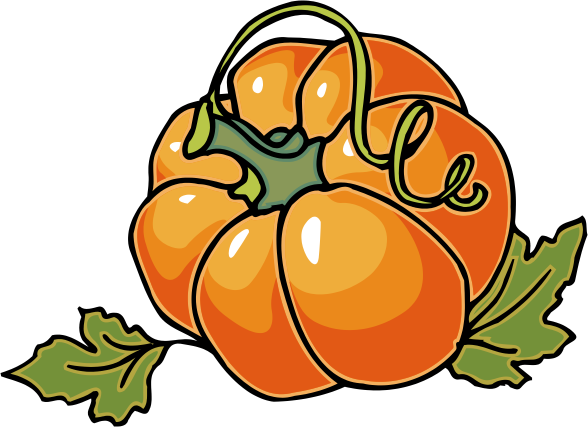 Gourd clipart pumpkin vine Halloween Fall more! Pumpkin Clip
