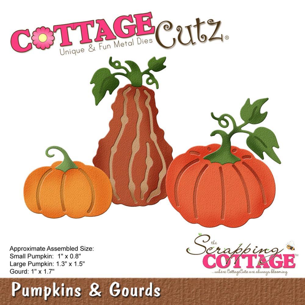 Gourd clipart small pumpkin Die  Gourds Cutz Cottage