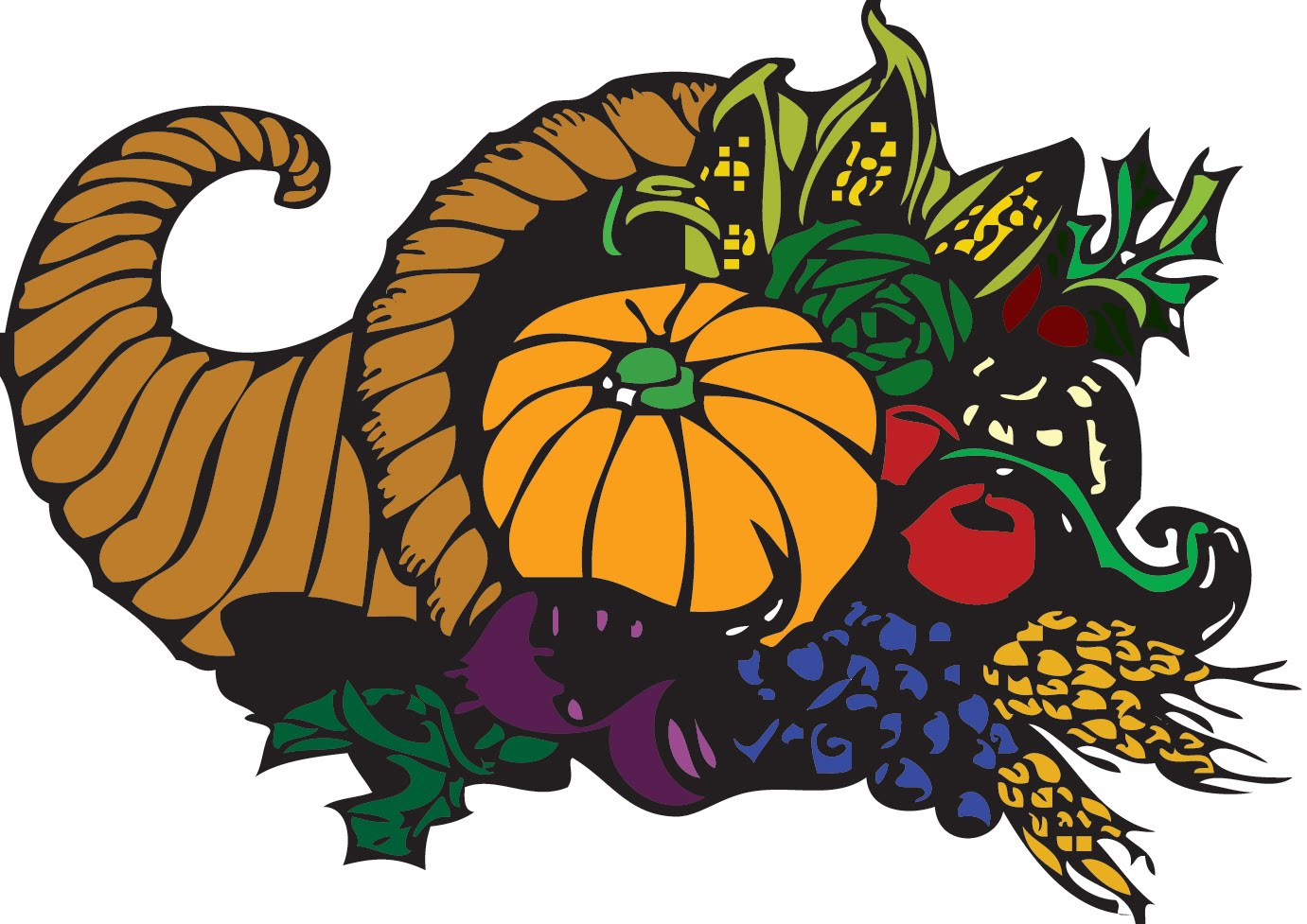 Gourd clipart thanksgiving food Art Thanksgiving Clip library Free