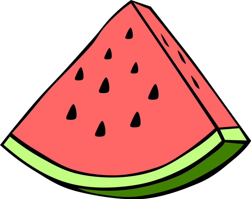 Watermelon clipart single vegetable Clipart fruit%20clipart Free Art Panda