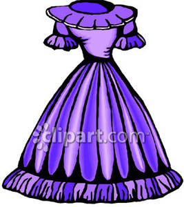 Dress clipart party dress Drawings Dresses Drawings Prom 54