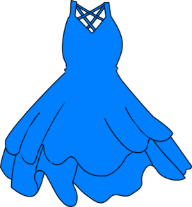 Dress clipart blue princess Clipart clipart #4 Gown drawings