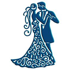 Gown clipart 3 woman Die 3 Tattered Bride vector