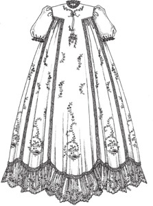 Gown clipart baby christening Beautiful III Christening Pinterest on