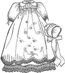 Gown clipart baby christening Find images this 140 Baby