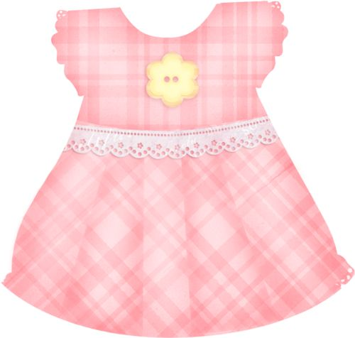 Gown clipart baby christening Pink dress Pinterest Baby 410
