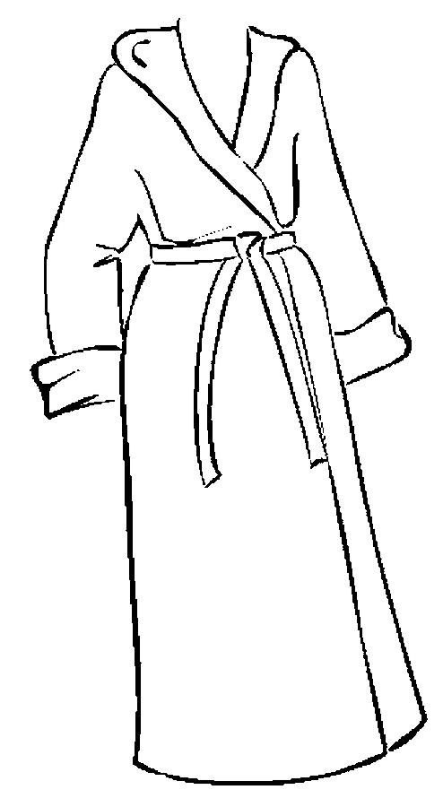 Gown clipart bathrobe Shower bath Free  Clip