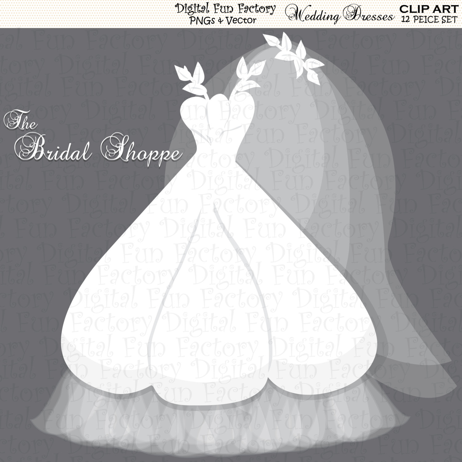 Gown clipart bride dress By Clipart Dress Art Wedding