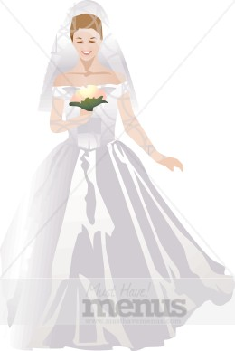 Gown clipart bride dress Wedding Wedding Clipart Clipart Gown