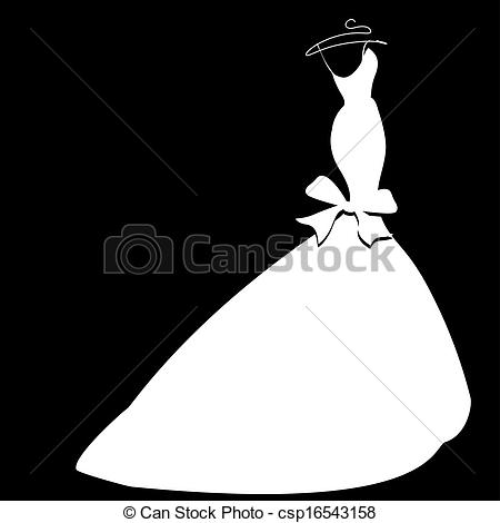 Bride clipart bridesmaid dress #13