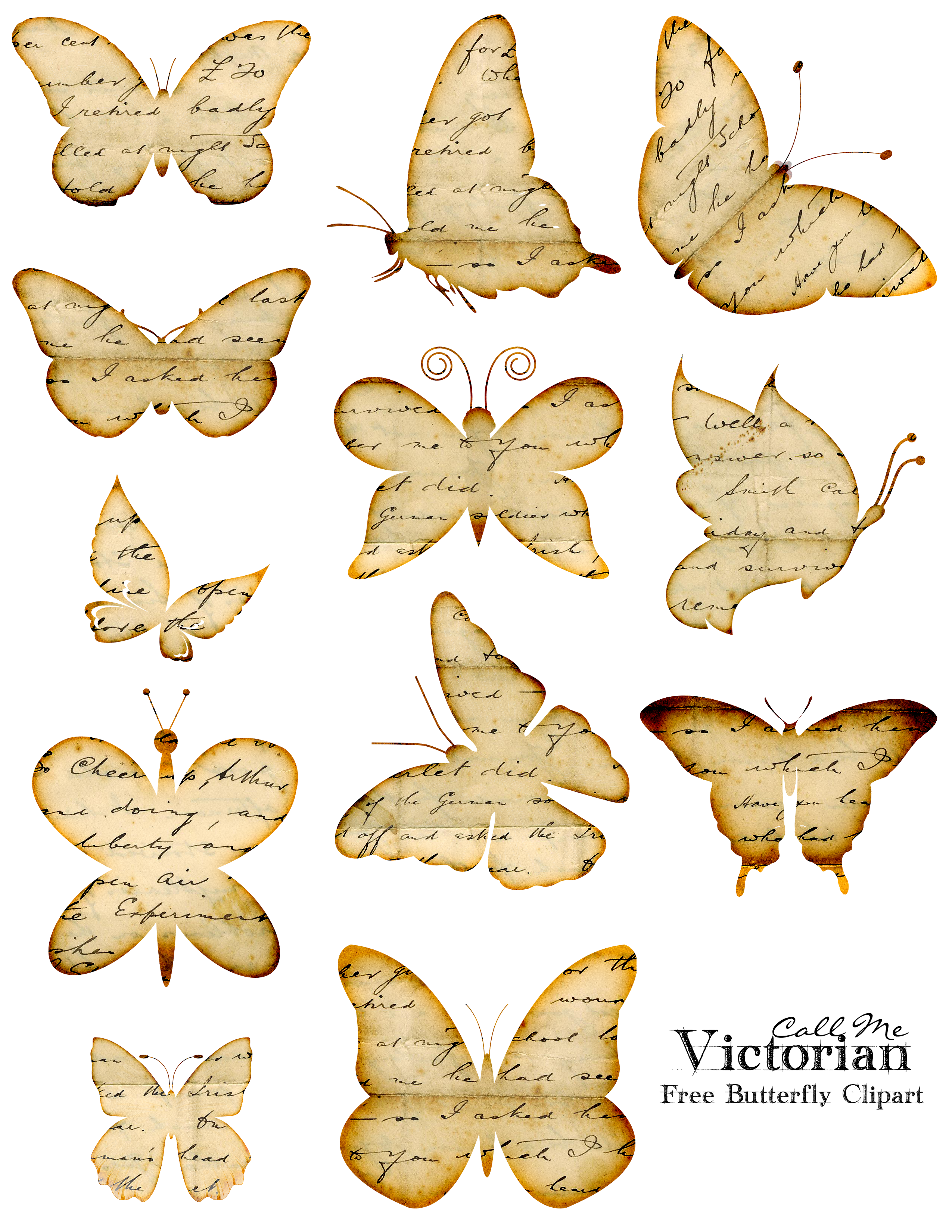 Gown clipart butterfly Overlay  Handwriting free Distressed