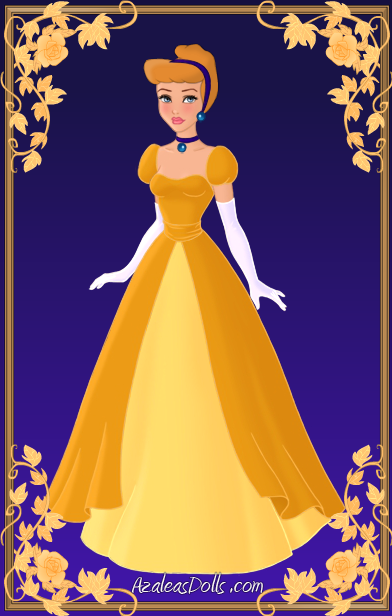 Gown clipart cinderella ball Gown a by in kawaiibrit