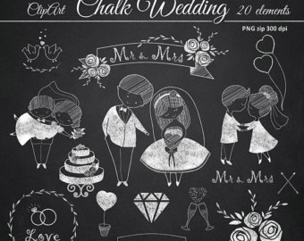 Gown clipart cute dress Images cute Prom Wedding Chalkboard