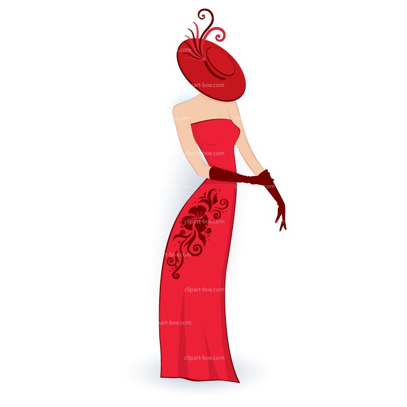 Gown clipart diva  Curvy Mind the of