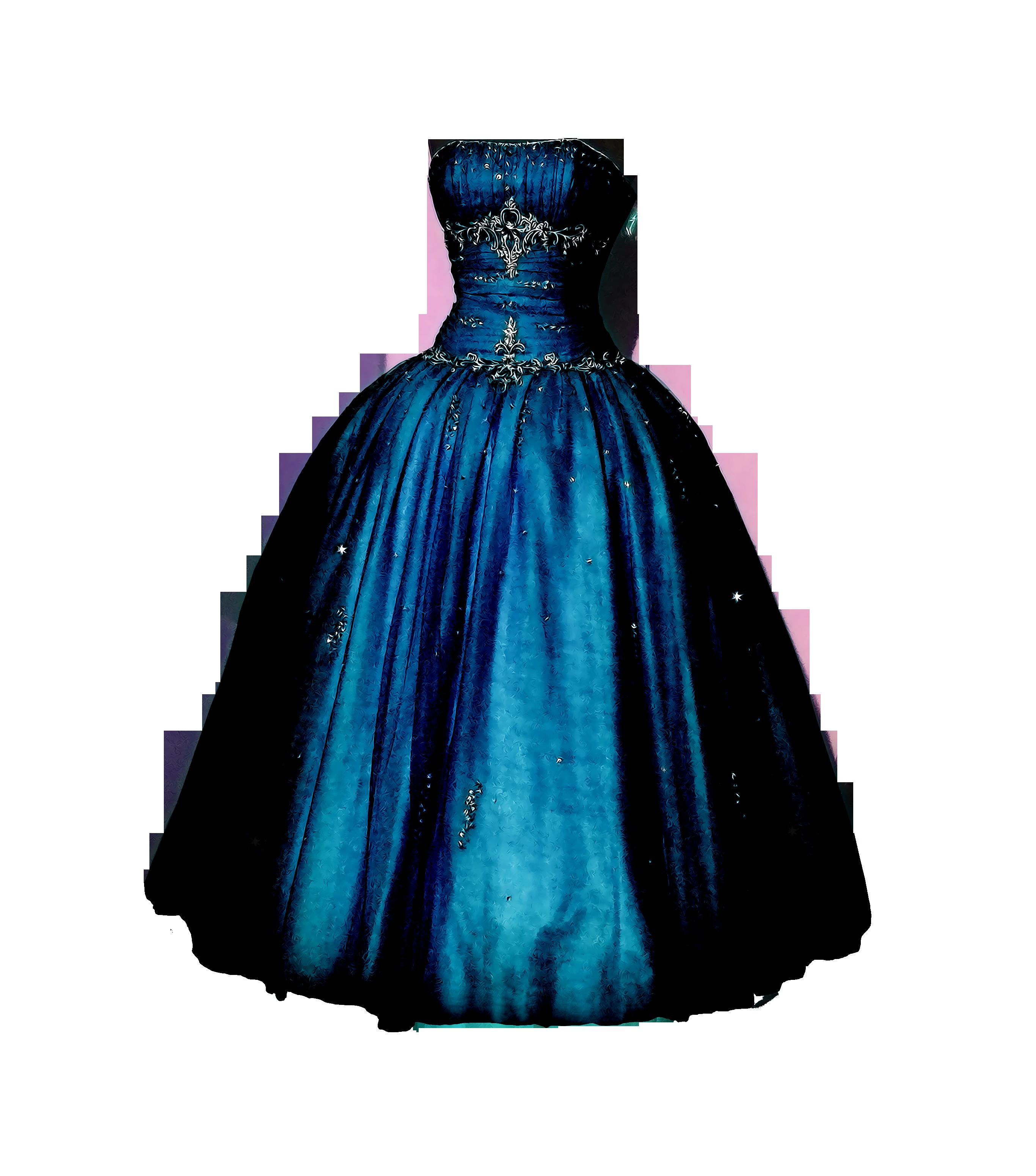 Gown clipart drees Clipart Mart Dress PNG Clipart