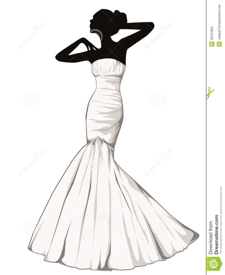 Gown clipart elegant bridal Art more best and art
