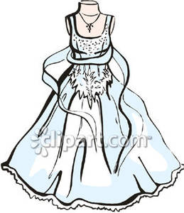 Gown clipart elegant bridal Picture Royalty Royalty Gown Picture