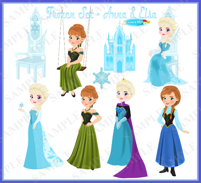 Gown clipart dress mannequin Part 2 Elsa (In Clipart