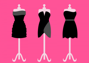 Gown clipart formal dress Gown Dresses Black Clip Three