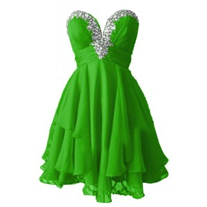 Gown clipart green Cute Juniors Angel Polyvore Chiffon