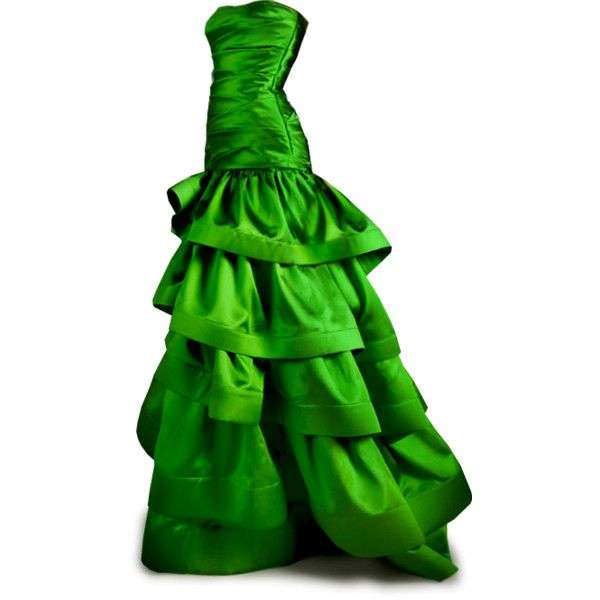Gown clipart green Gown Art_Evening Green Green Dresses_dressesss