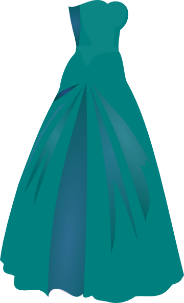 Gown clipart green dress Art art Princess at com