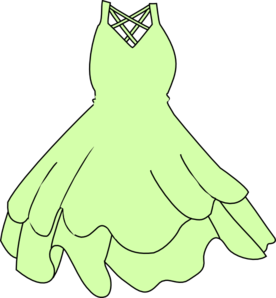 Gown clipart green dress Dress Yellow Gown Yellow clipart