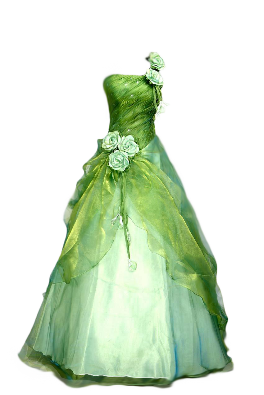 Gown clipart green dress Clipart Cinderella Cinderella Dres Art