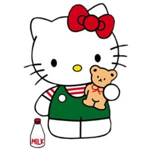 Gown clipart hello kitty Hello Hello Kitty Kitty! Polyvore