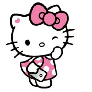 Gown clipart hello kitty Hello 发现生活_ 堆糖 images kitty