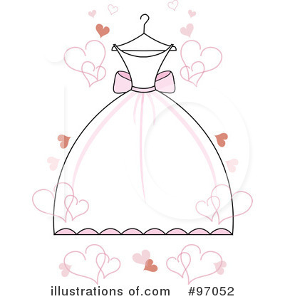 Gown clipart illustration #97052 by Illustration Clipart by