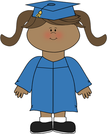 Gown clipart kid dress Art Graduation Clip Kids Kindergarten