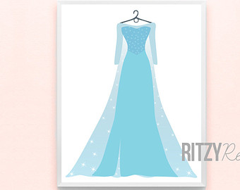 Gown clipart kid dress Place Girls Disney and handmade