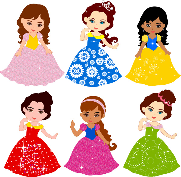 Gown clipart kid dress Dress child colorful use for