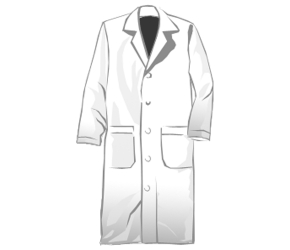 Gown clipart lab Lab Coat Download Lab Clipart