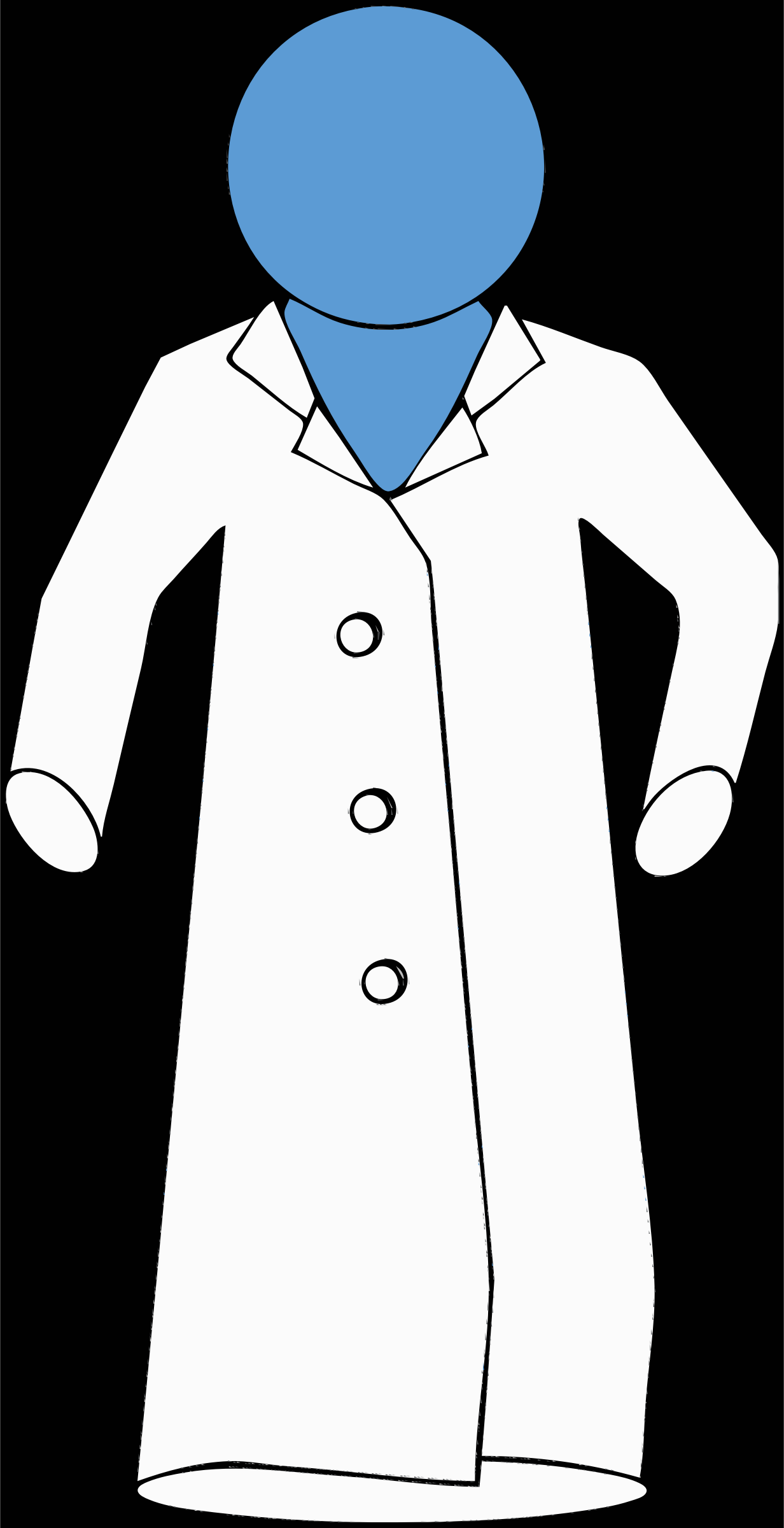 Gown clipart lab Figure on on lab figure