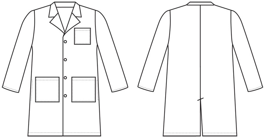 Gown clipart lab Coat Art Clip on Clip