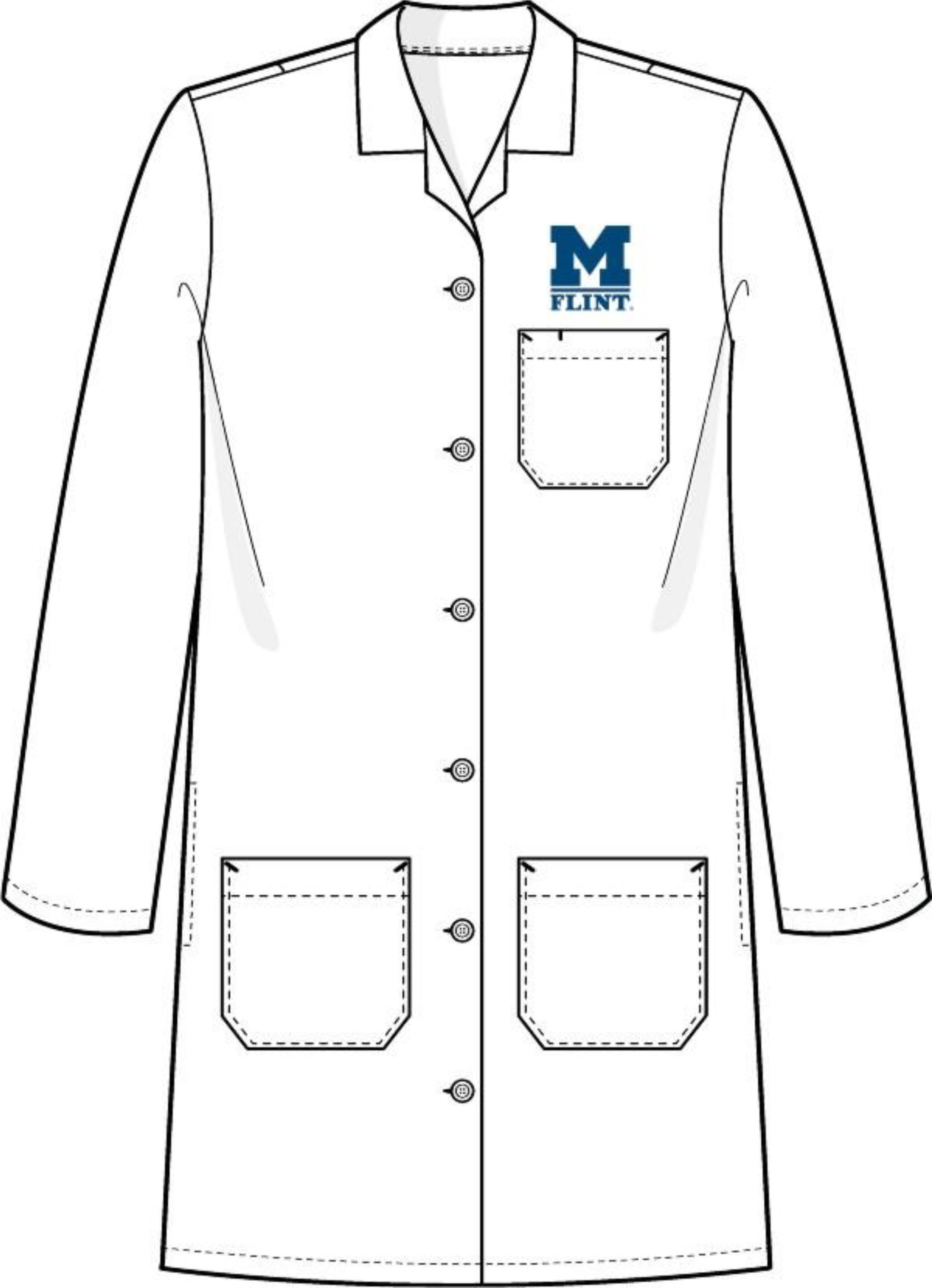 Gown clipart lab And coat Vector Lab coat