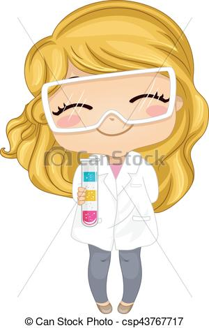 Gown clipart lab Tube Gown  Test Kid