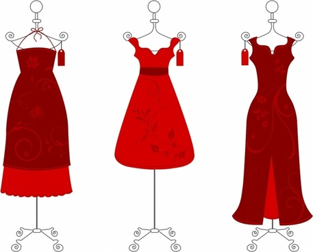 Gown clipart lady in red (450 for download free Little