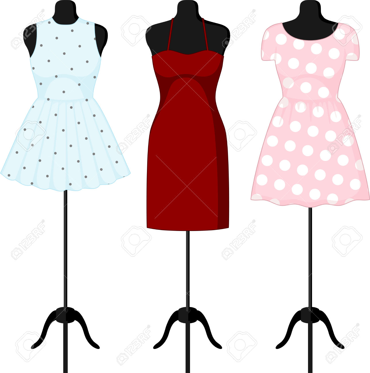 Gown clipart manikin 20clipart Tiny Mannequin 20clipart 108